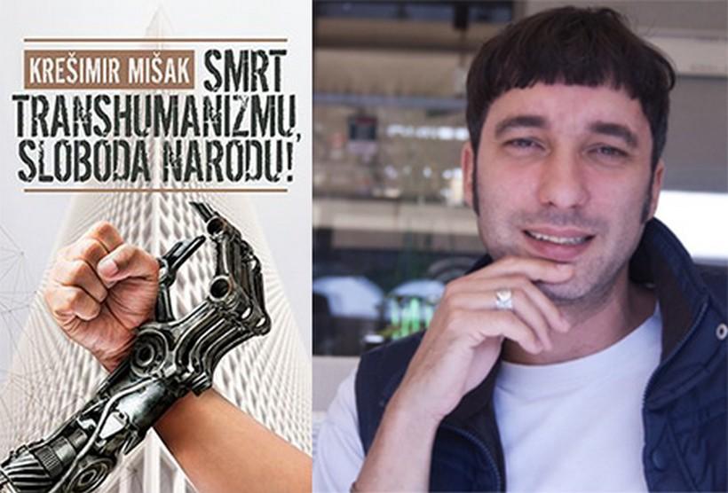 "Promocija knjige ""Smrt transhumanizmu, sloboda narodu"" Krešimira Mišaka u Čazmi"