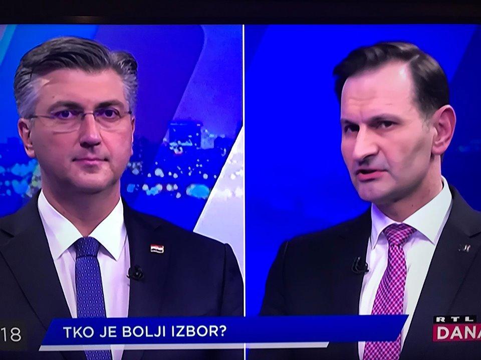 ODRŽAN DUEL PLENKOVIĆ – KOVAČ Plenković: Kovač je želio biti prvi na listi za Europski parlament // Kovač: Plenković je napravio krš i lom u stranci i izgubio vjerodostojnost