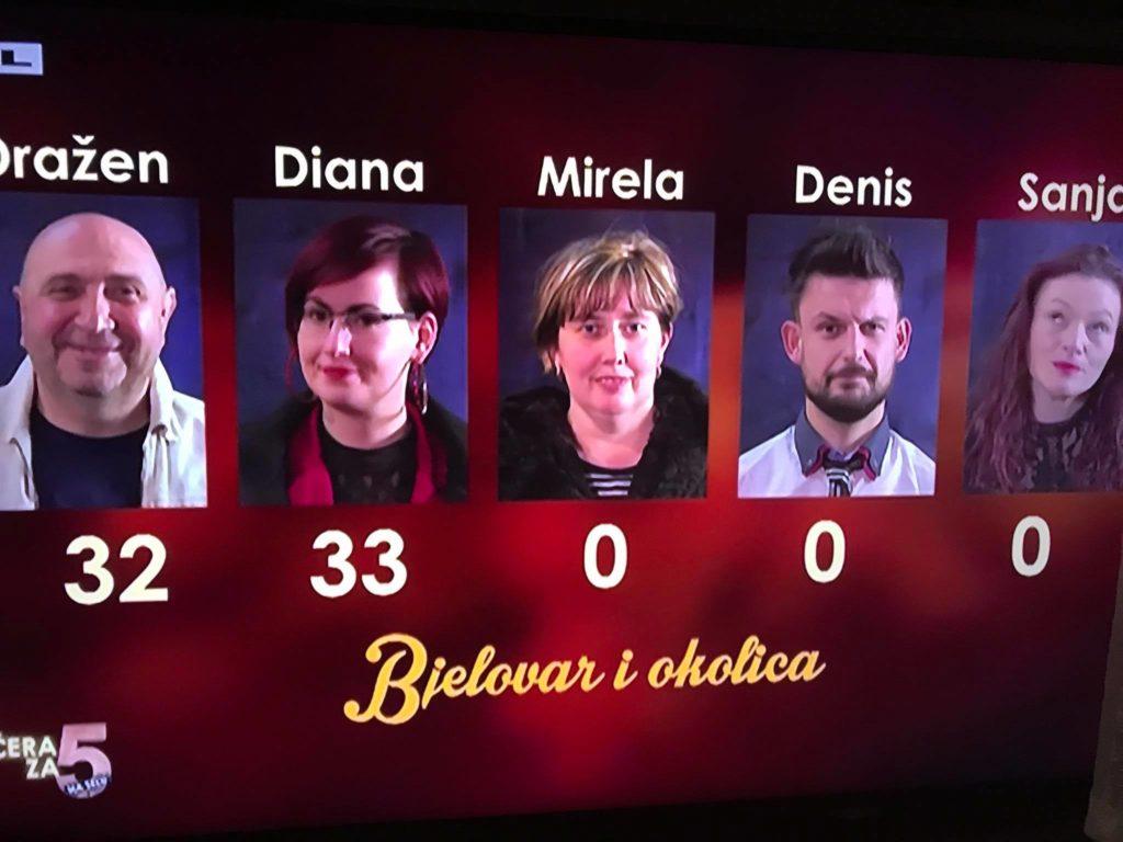 VEČERA ZA 5 NA SELU Diana dobila bolje ocjene od Kocke