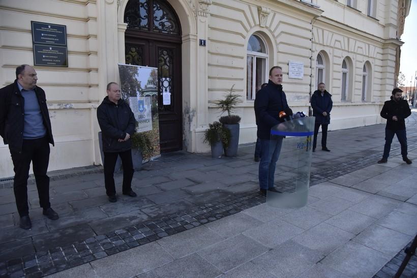 [VIDEO] Gradonačelnik Jakšić predstavio paket mjera za spas koprivničkog gospodarstva težak 10 milijuna kuna