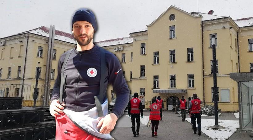 Nikola Golub, kondicijski trener RK Podravke volonter u Crvenom križu