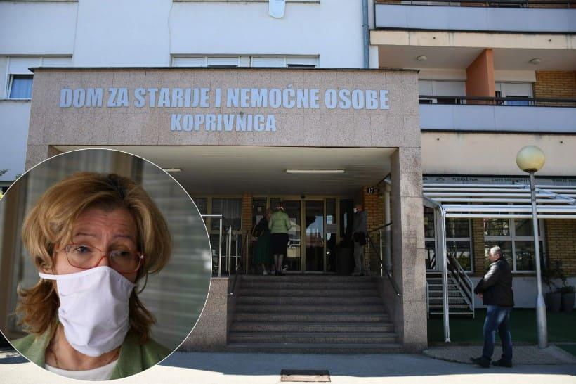 [VIDEO] Ravnateljica Doma za starije i nemoćne u Koprivnici: 'Neka nas sve testiraju da znamo na čemu smo'