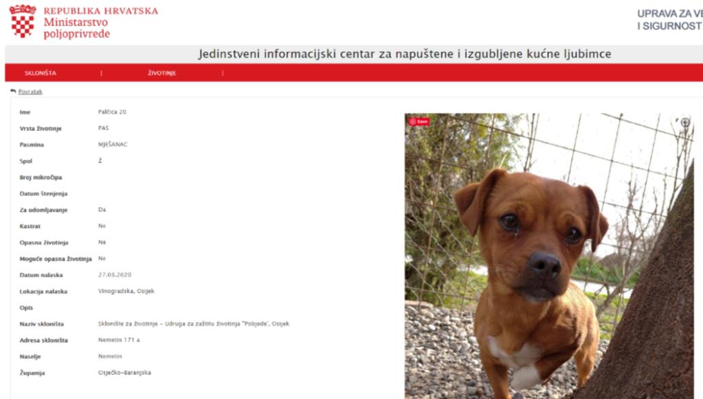 Prijatelji životinja obavijestili sve lokalne zajednice o važnosti Jedinstvenog informacijskog centra