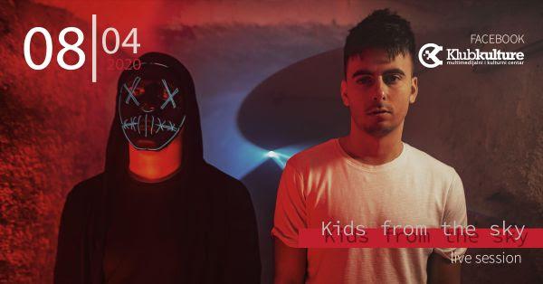 "Večeras Facebook live koncert križevačkog benda ""Kids from the sky"""