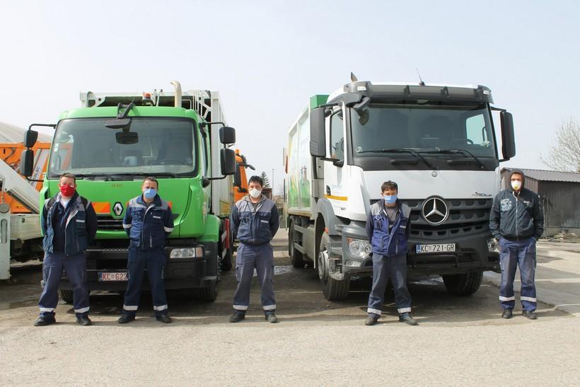 Koprivnički GKP Komunalac otpad odvozi po rasporedu, zaposlenici koriste zaštitna sredstva