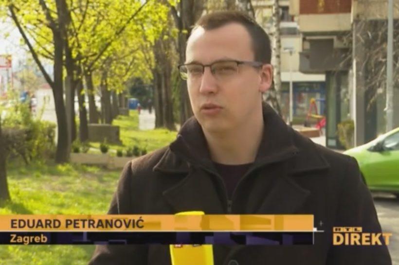 """EPIDEMIJA OTKAZA U HRVATSKOJ Eduard Petranović: """"Kao noviji zaposlenik bio sam prvi na udaru"""""""