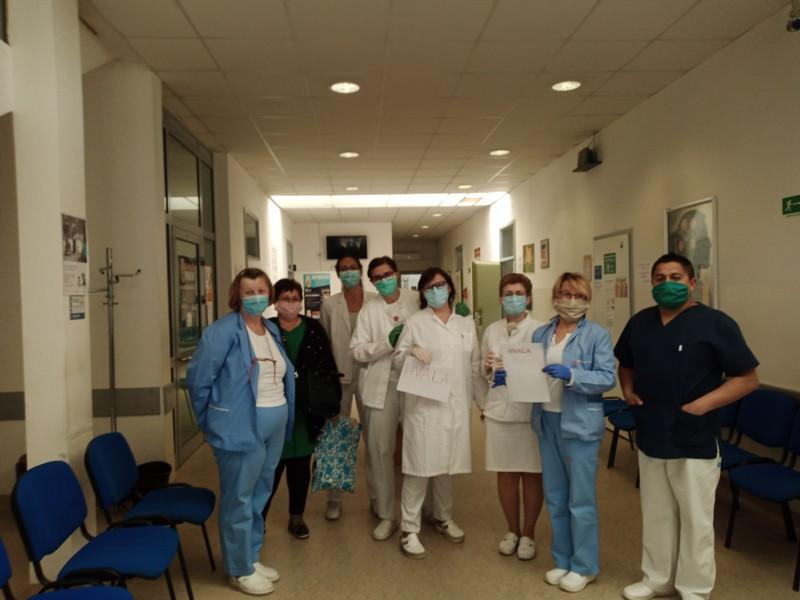 Tvrtka Tinktura donirala dezinfekcijska sredstva križevačkim obiteljskim liječnicima