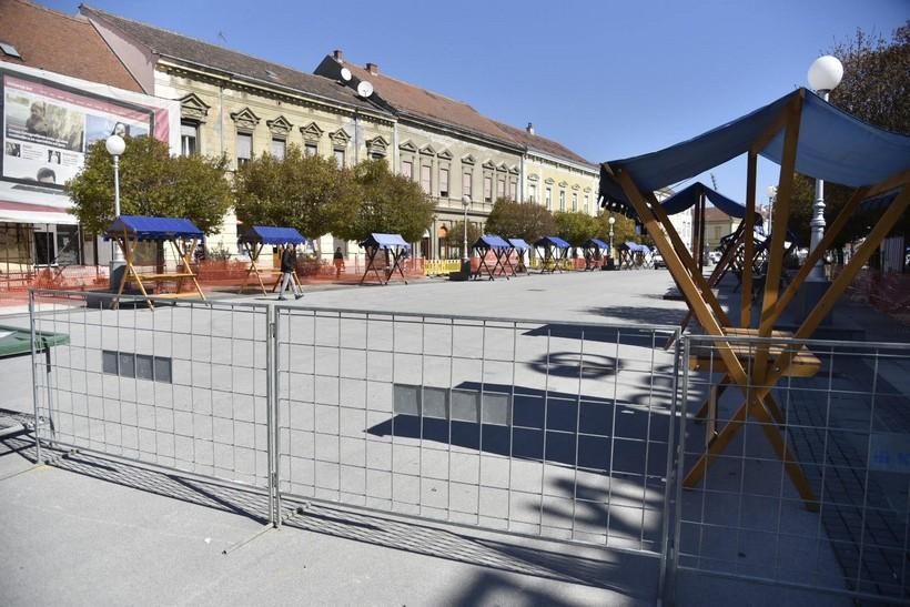[FOTO] Koprivnička tržnica uskoro bi mogla biti otvorena, ali na novoj lokaciji i pod posebnim uvjetima