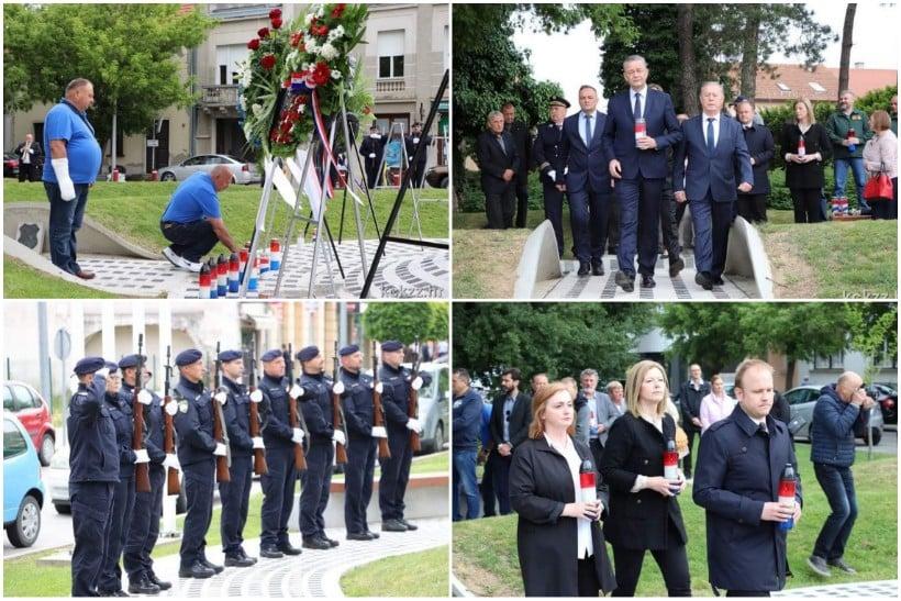 🖼️ U povodu Dana državnosti položeni vijenci kod Spomenika hrvatskoj slobodi za branitelje iz Domovinskog rata