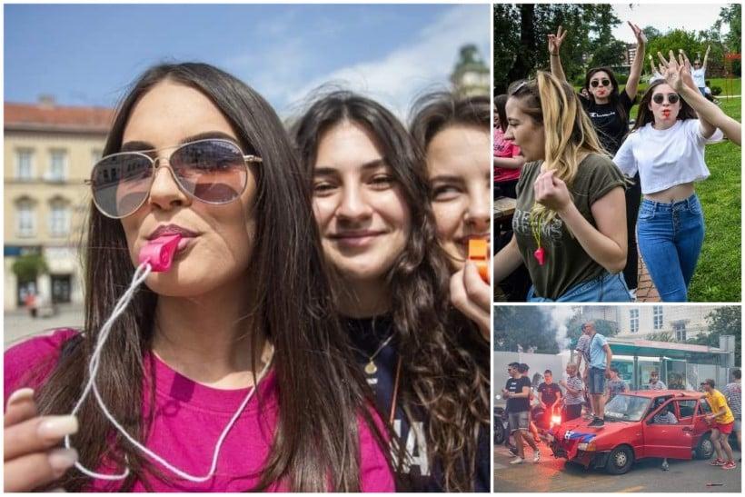 🖼️ Maturanti diljem Hrvatske spontano se okupljaju i slave