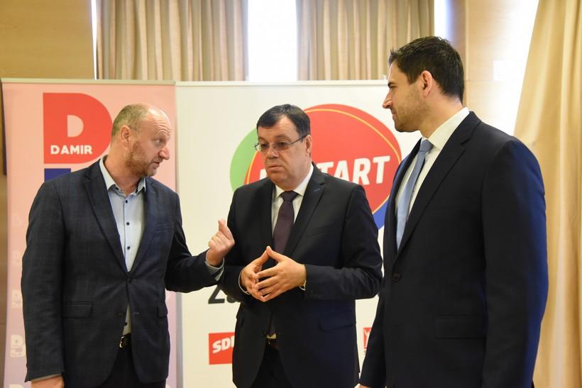 Župan Damir Bajs: 'Jedina opcija da se ova zemlja izvuče iz krize je Restart koalicija'