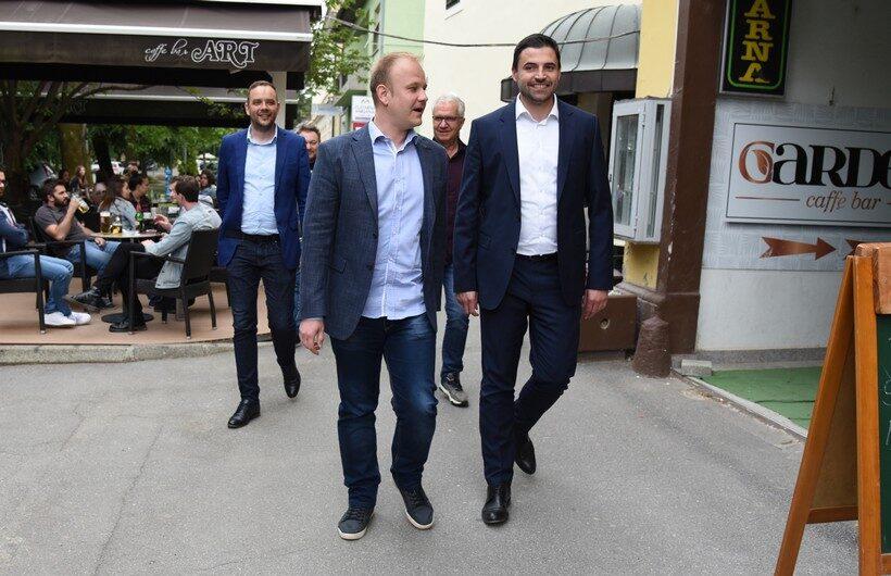 Bernardić u Koprivnici, u tijeku je sastanak vezan za drugu izbornu jedinicu