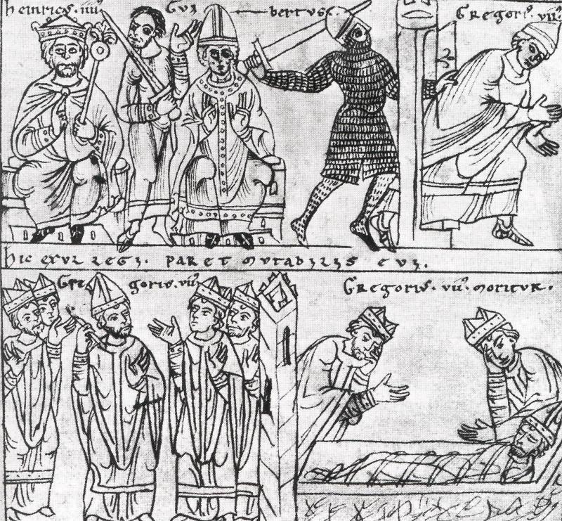 Sveti Grgur VII – Poniženje u Canossi