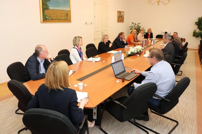 Župan Koren održao Kolegij pročelnika županijskih upravnih tijela