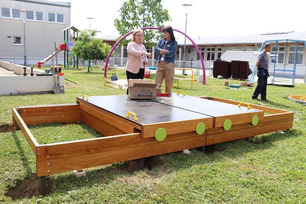 🖼️ Uskoro puni sjaj novog dječjeg igrališta u Podravskom suncu