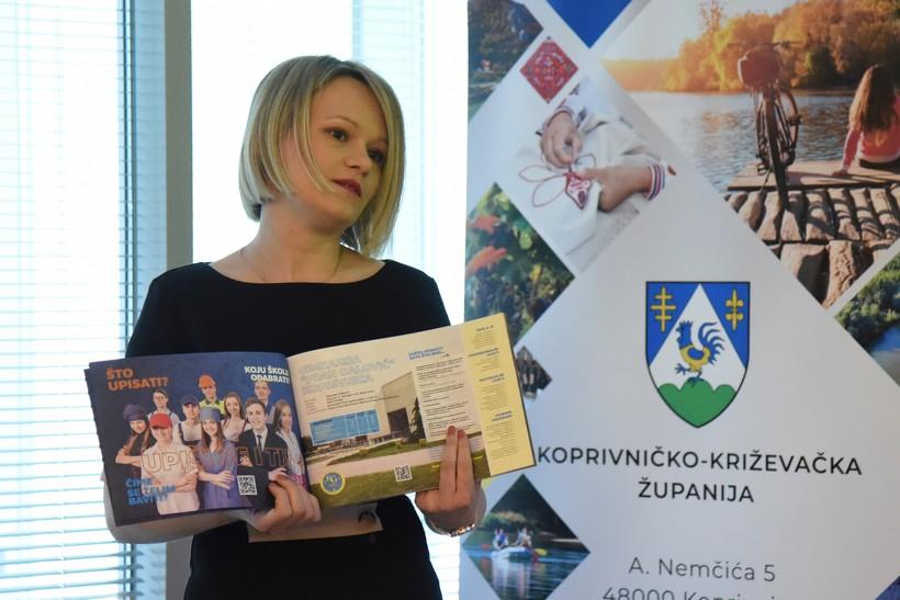 🖼️ Predstavljen Vodič kroz srednje škole za učenike osmih razreda osnovnih škola Koprivničko-križevačke županije