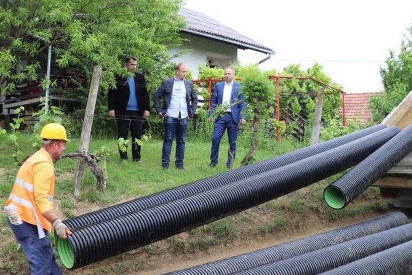 Pri kraju proširenje vodovodne i kanalizacijske mreže u dijelu koprivničkog naselja Draganovec