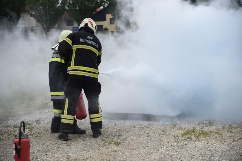 Povećan broj intervencija vatrogasaca u odnosu na prošlu godinu