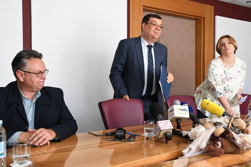 Župan Bajs o gradonačelniku Hrebaku: Sunce ga je opalilo