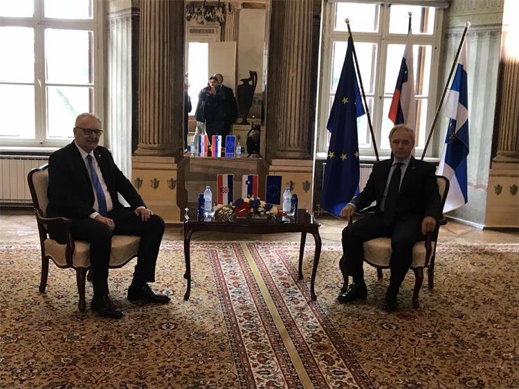 Božinović sa slovenskim kolegom Hojsom potvrdio odličnu suradnju