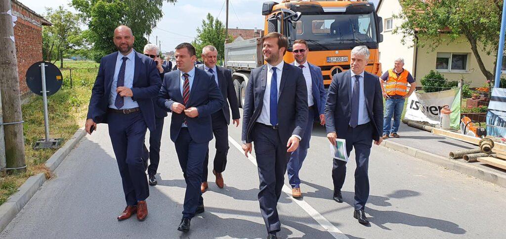 Ministar Tomislav Ćorić posjetio Bjelovar: Krenula provedba Aglomeracije