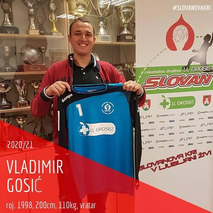 RUKOMET – Gošić iz KTC-a pristupio ljubljanskom Slovanu