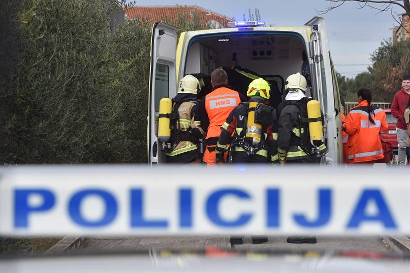 Nakon prometne nesreće vozač preminuo u vozilu hitne pomoći
