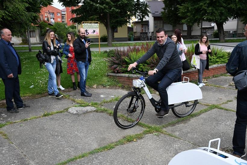 HREBAK SE PROVOZAO Bjelovarčani će se voziti na e-biciklima