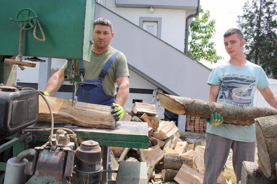 Miro Hrastovec: Banzek kojim pilim drva napravili smo šogor i ja