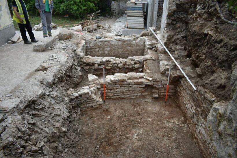 Pronađeni povijesni ostaci na gradilištu u pulskoj ulici Castropola