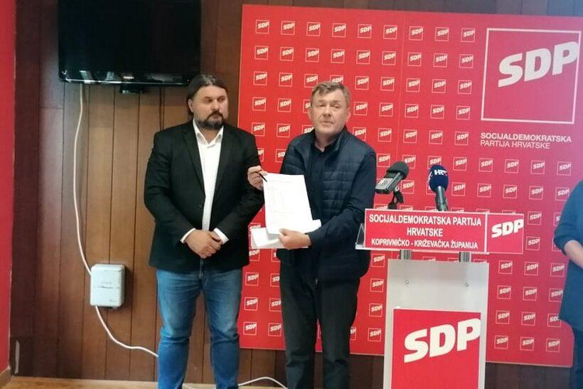 SDP održao konferenciju za medije vezanu na bioplinare na području Općine Sveti Petar Orehovec