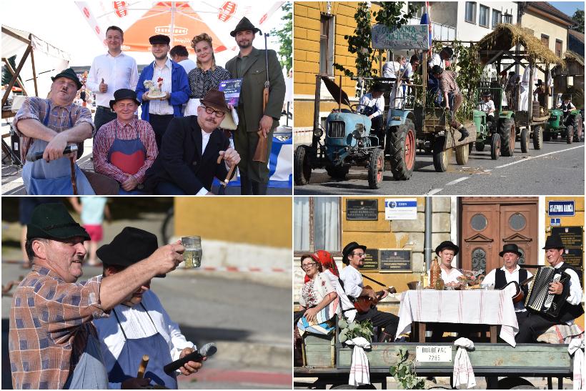 🖼️|🎦 PICOKIJADA U ĐURĐEVCU Održana povorka aranžiranih kola i oldtimer traktora