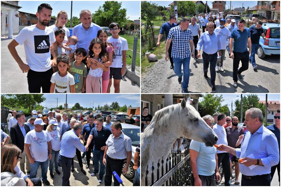 Milan Bandić posjetio Kozare puteve i družio se s mještanima