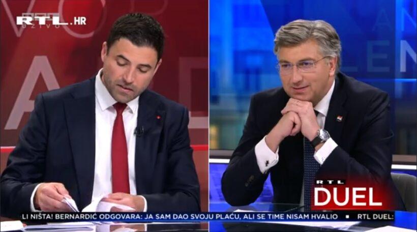 🎦 Plenković: 'Nije lako bez papira'