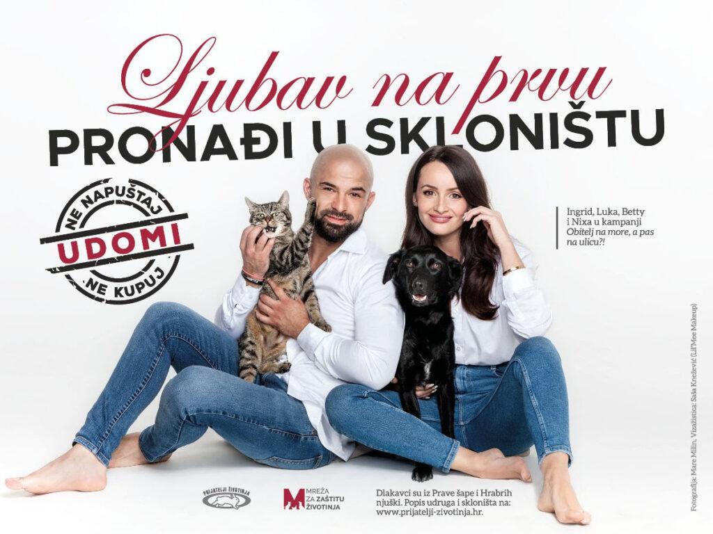 """Poznati par iz popularnog showa """"Brak na prvu"""" u kampanji udomljavanja napuštenih životinja"""