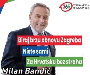 Za Hrvatsku bez straha – Milan Bandić