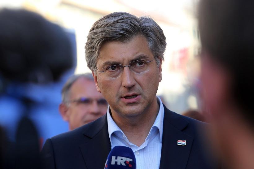 Plenković: HDZ sigurno ne vrbuje kandidate s lista Domovinskog pokreta