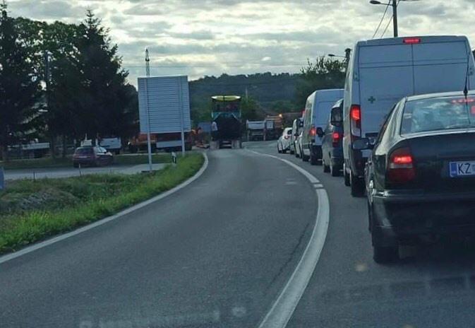U Križevcima i na autocesti A4 prometuje se usporeno