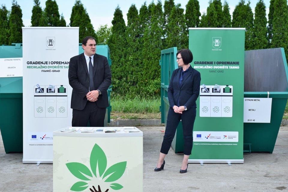 Na Dan grada Ivanić-Grada otvoreno novo reciklažno dvorište