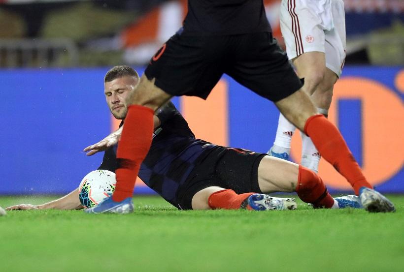Napoli – Milan 1-3, asistencija Rebića