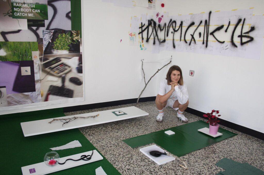 U Vrbovcu otvorena izložba Laure Barić