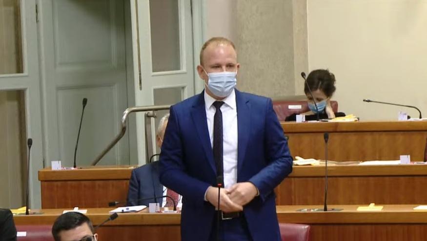 Mišel Jakšić (SDP) imenovan predsjednikom Odbora za pravosuđe Hrvatskog sabora