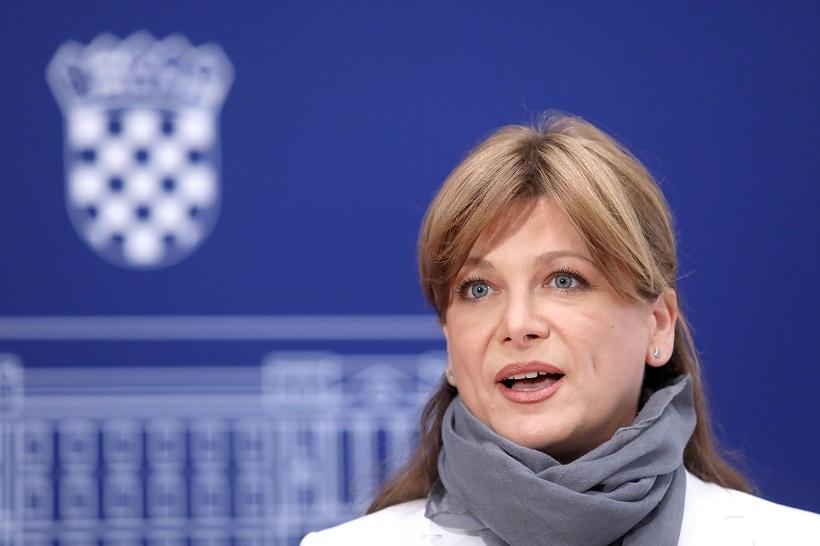 🎦 Zbog srpskih riječi zastupnice SDSS-a, Vidović-Krišto trčala po Saboru, pa zaradila opomenu