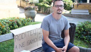 🎦 Ivan Pokupec i dalje prosvjeduje ispred Klinike za dječje bolesti u Klaićevoj