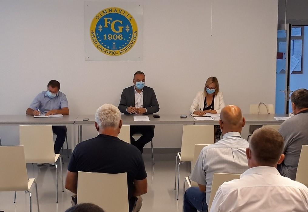 Ljubić upozorio: Pred nama je početak školske godine i odigravanje utakmica županijske nogometne lige