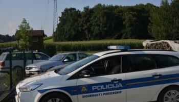 Uhitili pijanu vozačicu u Križevcima; izletjela s ceste i udarila u parkirani automobil