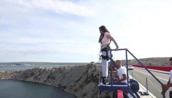 "Sara skočila s Masleničkog mosta: ""Malo me strah, skačem prvi put"""