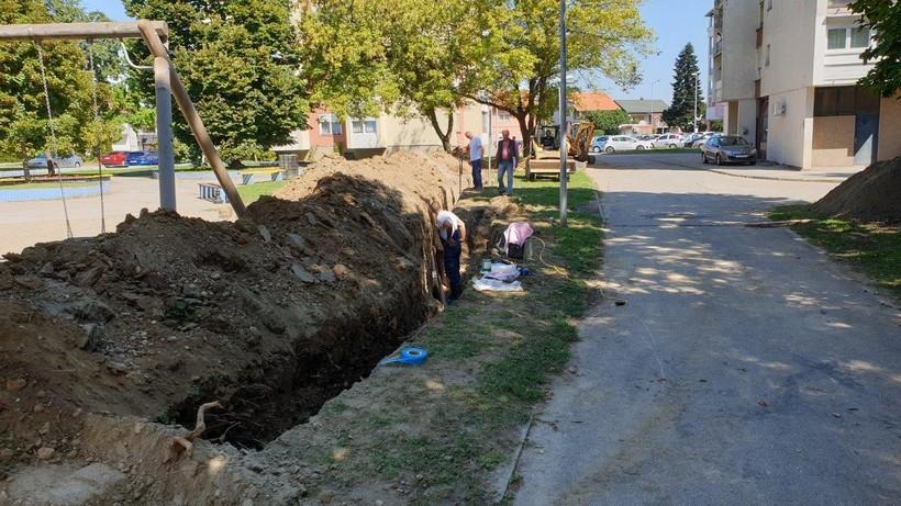 Počela obnova vodovodne mreže na Trgu kralja Zvonimira vrijednosti 300.000 kuna