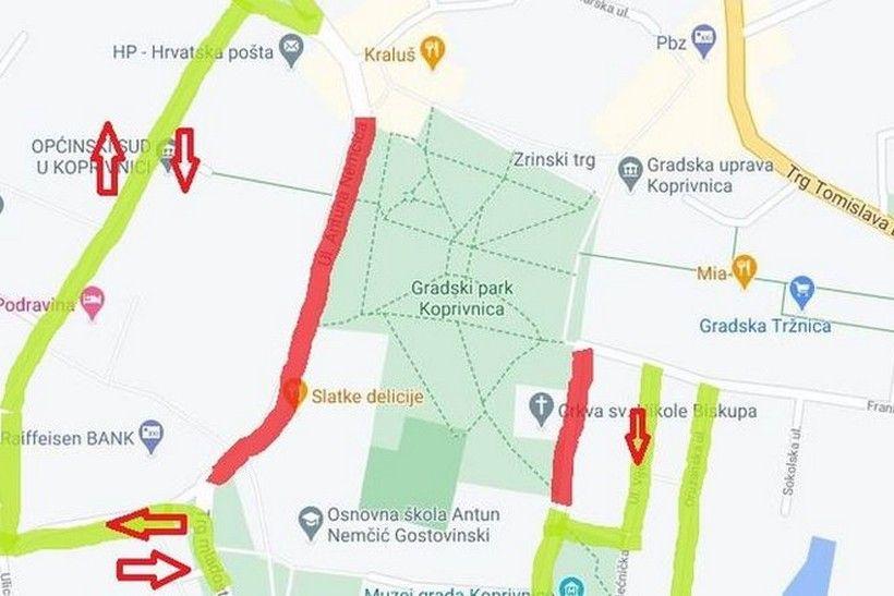 """Obavijest o privremenom zatvaranju prometnica povodom """"Europskog tjedna mobilnosti"""""""