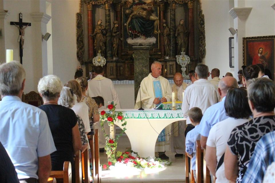 Svetom misom u Križevcima proslavljena svetkovina Gospe Žalosne